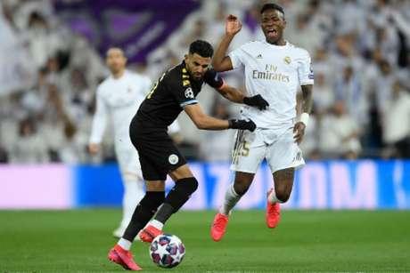 Apesar da vitória na ida, Manchester City e Real Madrid segue em aberto (Foto: OSCAR DEL POZO / AFP)