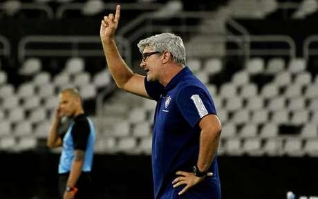 Odair Hellmann durante o amistoso contra o Botafogo (Foto: MAILSON SANTANA/FLUMINENSE FC)