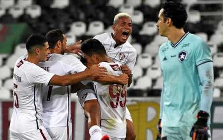 Evanilson marcou o gol do Fluminense após passe açucarado de Marcos Paulo (Foto: Mailson Santana/Fluminense FC)