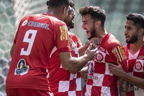 O Tombense marcou com João Paulo e está a um empate da finald o Mineiro-(Yuri Laurindo/Arena Independência)