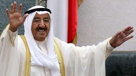 Sabah Al-Ahmad Al-Yaber Al Sabah governa o Kuwait desde janeiro de 2006.
