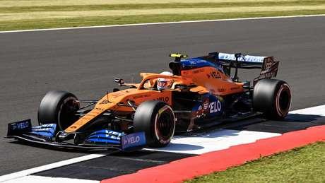 Lando Norris ficou em quinto no GP da Inglaterra