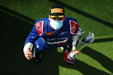 Smolyar venceu na Fórmula 3 pela primeira vez na carreira