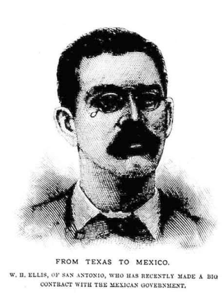 Retrato de William Ellis no fim da década de 1880