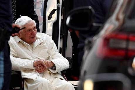 Bento XVI em visita à Alemanha, no fim de junho