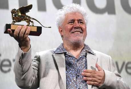 Pedro Almodóvar recebeu o Leão de Ouro pela carreira em 2019