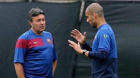 Torrent foi auxiliar de Guardiola no Barcelona, no Bayern e no City (Foto: Divulgação)