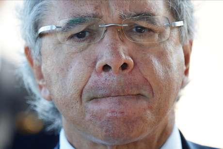 Ministro da Economia, Paulo Guedes 27/04/2020 REUTERS/Ueslei Marcelino