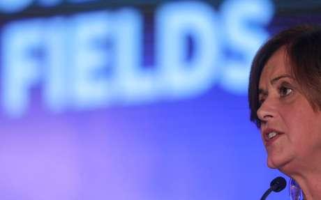 Anelise Lara, diretora de Refino da Petrobras  29/10/2019 REUTERS/Sergio Moraes