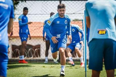 Robinho foi dispensado pela Raposa em junho, mas ainda não havia conseguido a rescisão do seu contrato-(Vinnicius Silva/Cruzeiro)