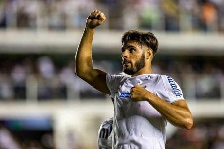 Yuri Alberto deixa o Santos com três gols marcados (Foto: Richard Callis/Fotoarena/Lancepress!)