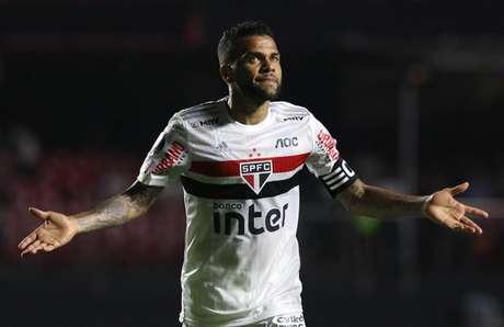 Daniel Alves tem contrato com o São Paulo até o fim de 2022 - FOTO: Rubens Chiri/saopaulofc.net
