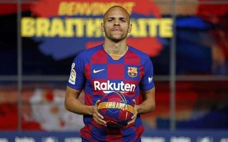 Braithwaite chegou em fevereiro e já está indo embora do Barcelona (Foto: Miguel Ruiz / FC Barcelona)