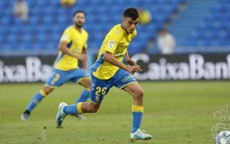 Pedri jogou a última temporada pelo Las Palmas (Foto: Divulgação/Las Palmas)