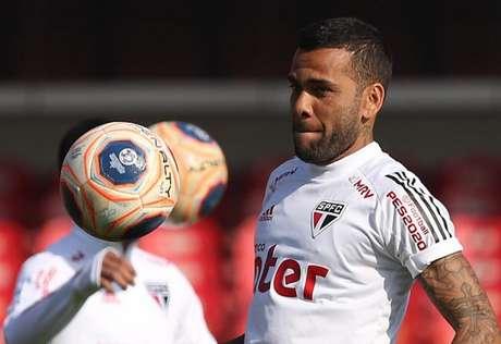 Daniel Alves chegou ao São Paulo em agosto de 2019 (Foto: Divulgação/São Paulo)
