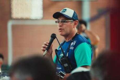 Ricardo Cardoso é coordenador do projeto da Escolinha de Triathlon Formando Campeões (Foto: Rafael Pereira)