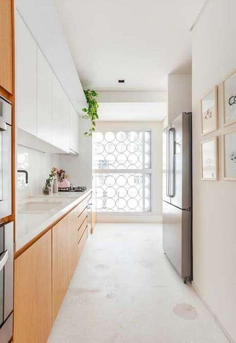 4. Forme uma linda composição de quadros decorativos para cozinha na parede. Fonte: Pinterest