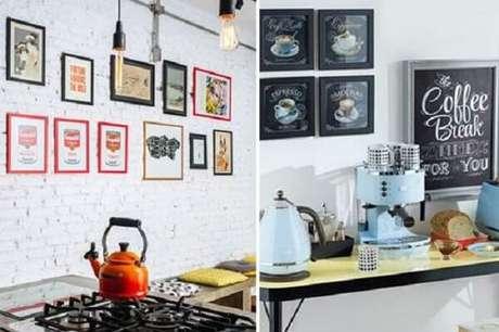 44. Modelos de quadros decorativos para cozinha que inspiram. Fonte: Pinterest