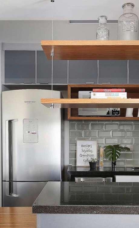 17. Quadros decorativos para cozinha com frases discretos e charmosos. Fonte: Pinterest