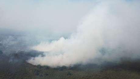 Com período de extrema seca, Pantanal viu o fogo tomar conta de parte de sua área nos últimos meses