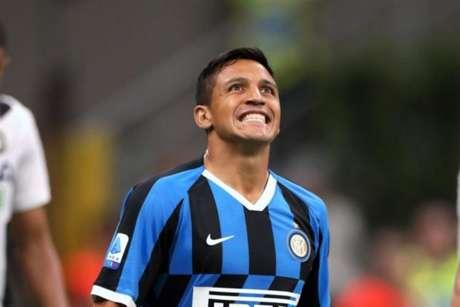 Sánchez estava emprestado pelo Manchester United (Foto: AFP)