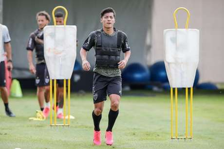 Alan Franco veio do Indenpendiente Del Valle para reforçar o Galo em 2020-(Bruno Cantini/Atlético-MG)