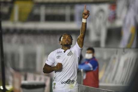 Marinho é um dos destaques do Santos em 2020 (Divulgação/Santos FC)