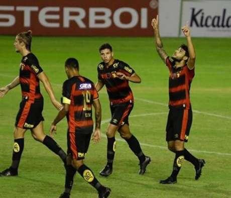 Sport aplicou goleada em sua despedida do Campeonato Pernambucano 2020 (Foto: Anderson Stevens/Sport)