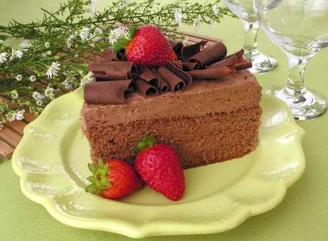 Guia da Cozinha - Receitas de bolo de chocolate gelado para vender e faturar muito