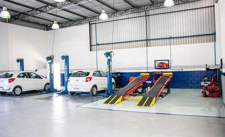 Oficina da Econorte Taubaté tem capacidade para atender cerca de 260 carros por mês.