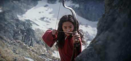 Yifei Liu em 'Mulan' (2020)
