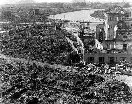 Hiroshima após bomba atômica