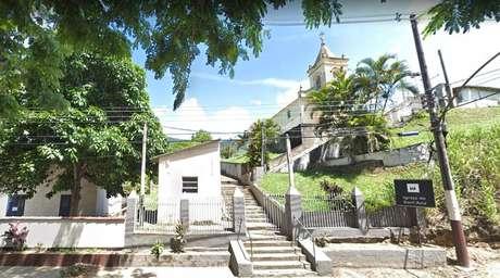 Igreja de Sant'ana em Miguel Pereira, na região centro-sul do Rio de Janeiro.