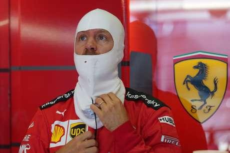 Sebastian Vettel tem poucos motivos para sorrir em 2020
