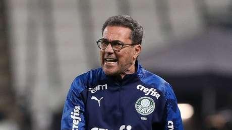 Luxemburgo disputa a quarta final pelo Palmeiras contra o Corinthians (Cesar Greco/Agência Palmeiras)
