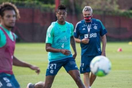 Fla de Torrent estreará no Brasileiro neste domingo, contra o Atlético-MG, no Maracanã (Foto: Alexandre Vidal / Flamengo)