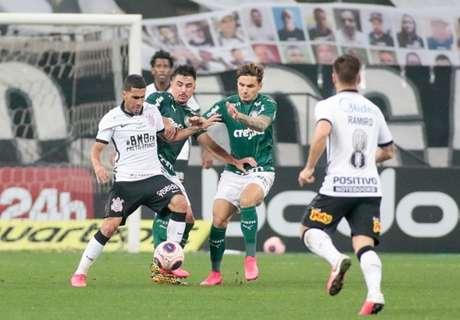Corinthians e Palmeiras fizeram um jogo disputado, mas longe ser atraente (Foto: Rodrigo Coca/Ag. Corinthians)