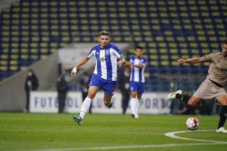 Tiquinho Soares está no Porto desde a temporada 2016/17 e tem contrato até junho do ano que vem (Divulgação/FC Porto)