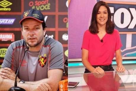 Daniel Paulista e Renata Silveira são os convidados do 'De Casa com o LANCE!' (Foto: Divulgação/Sport e Divulgação/Fox Sports)