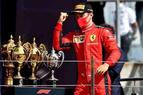 Leclerc conquistou dois pódios improváveis em quatro etapas na temporada
