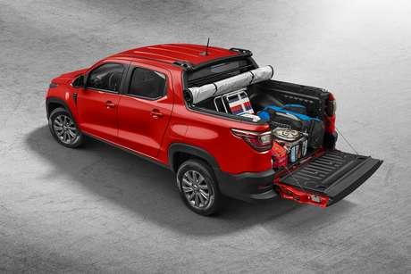 Versão Freedom Cabine Dupla: 27% nas vendas, segundo o marketing da Fiat.