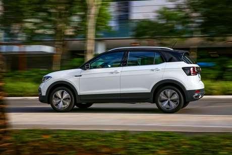 Volkswagen T-Cross: único carro de passeio entre os cinco que mais subiram de preço em setembro.