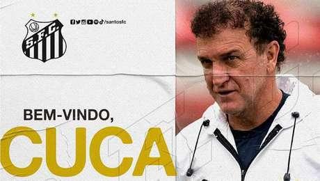 Cuca é o novo técnico do Santos