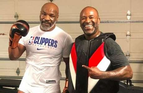 Tyson contrariou dirigente da Comissão sobre 'regra do nocaute' (Foto: Reprodução/Instagram/@kingsmma_hb)