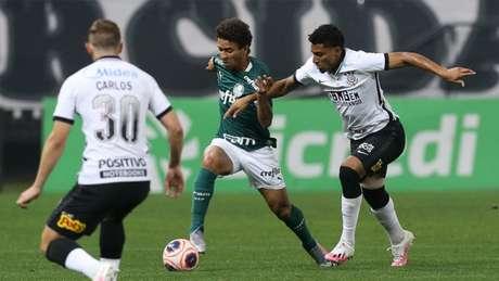 Primeira partida terminou empatada sem gols na Arena Corinthians (Foto: Cesar Greco/Palmeiras)