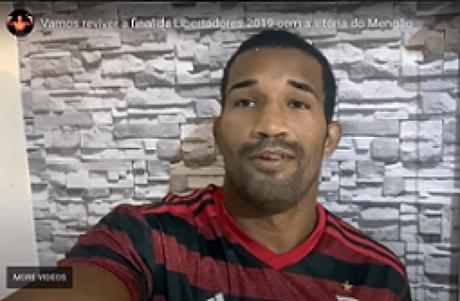 Esquiva Falcão mostrou toda sua confiança em mais um título Brasileiro do Flamengo (Foto: Reprodução/Instagram)
