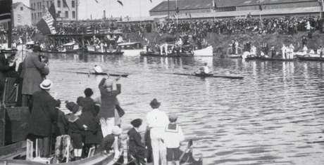 Jogos de Antuérpia 1920 abriram a participação olímpica do Brasil (Foto: Divulgação/COI)