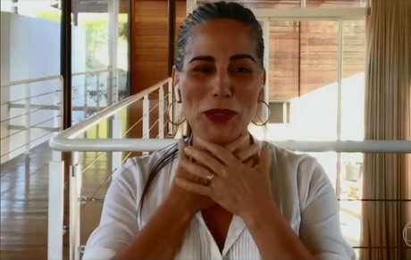 Glória Pires participa do programa 'Conversa com Bial'