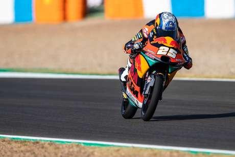Raúl Fernández vai debutar na pole da Moto3