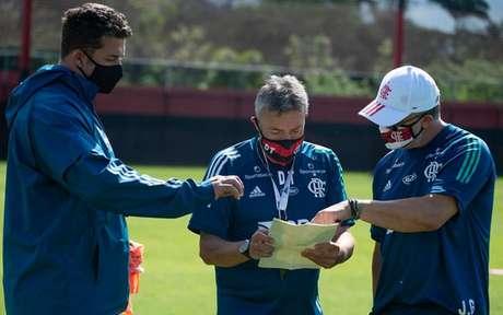 Flamengo estreia de técnico novo no Brasileirão - (Foto: Alexandre Vidal / CRF)